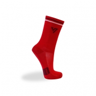 Red sport socks