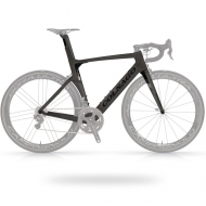 Black and silver bicycle