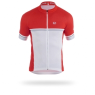 Red white sport jersey