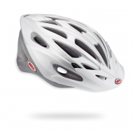 White riding helmet