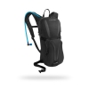 Black riding backpack