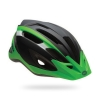 Black/ green helmet