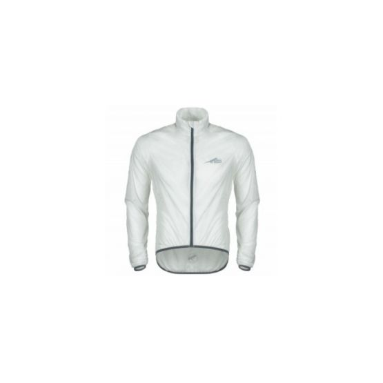First Ascent Podium Cycling Jacket White-Grey