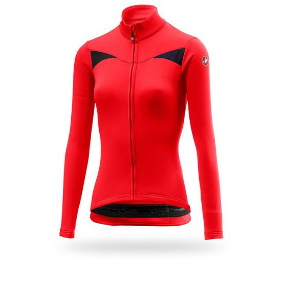 Castelli Sinergia Thermal LDY LS Jersey
