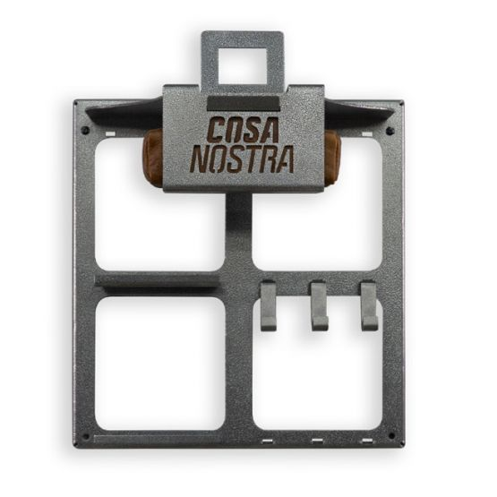 Cosa Nostra Wall Mount Storage Rack