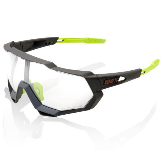 100% SpeedTrap Clear Cycling Glasses