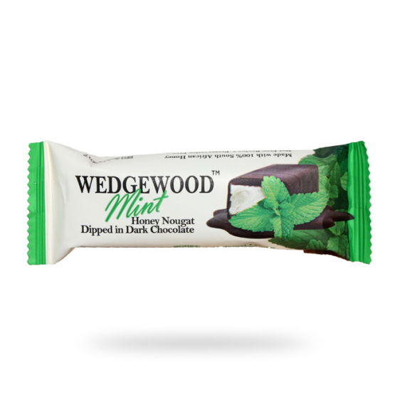 Wedgewood Chocolate Mint Nougat Bar 40g