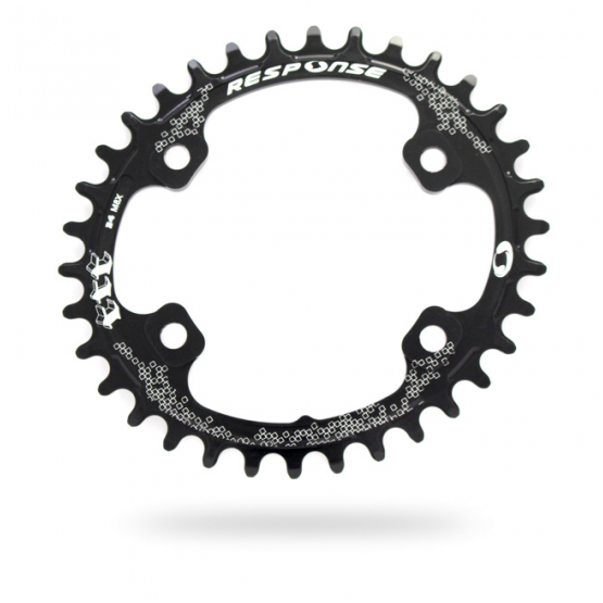 RESPONSE Thick Thin M8000 Oval Chainring (96 BCD)
