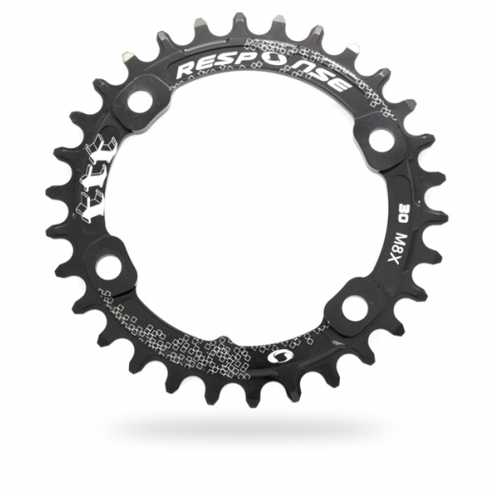 RESPONSE Thick Thin M8000 Type Chainring (96 BCD)
