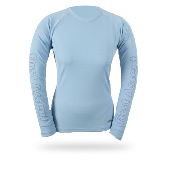 First Ascent Lds Bamboo Therm LS Baselayer Top