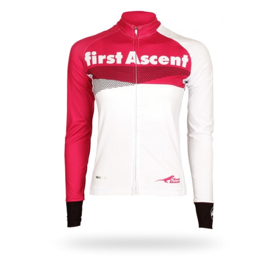 First Ascent Lds LS Breakaway Jersey