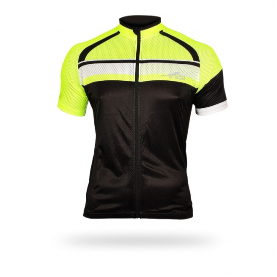 First Ascent Mens Paceline Jersey Lumo