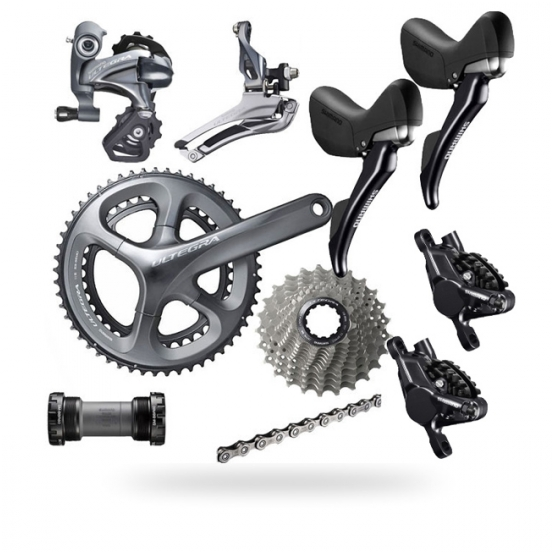 Shimano Ultegra 6800 Disc 11Spd Groupset