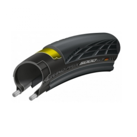 2 X Continental GP5000 Tubeless Tyre 700x25C Combo