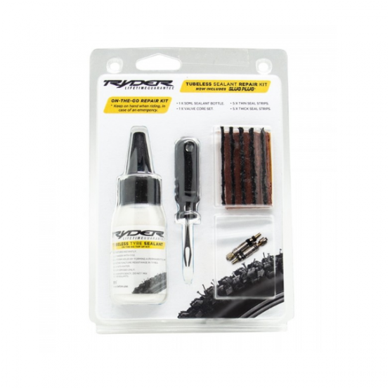Ryder Tubeless Tyre Repair Kit with 50ml Sealant