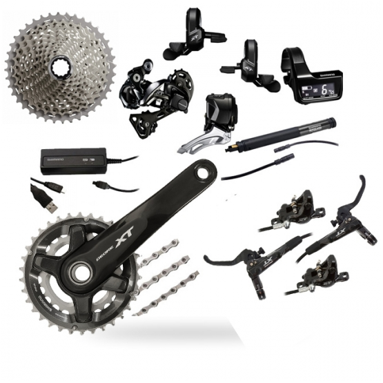 Shimano XT DI2 11 Speed Groupset (2x11)