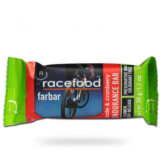 Racefood date & cranberry endurance bar