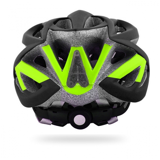 Lumo green/ grey helmet