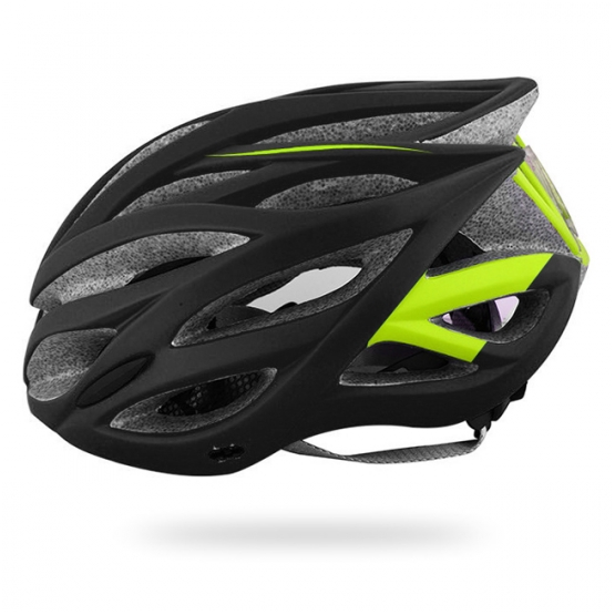 Yellow/black helmet