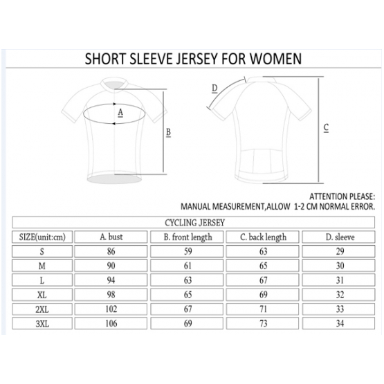 CAM Uno SS Ladies Jersey